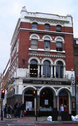 FOTO 1 - Pub Hope and Anchor - Islington (London)